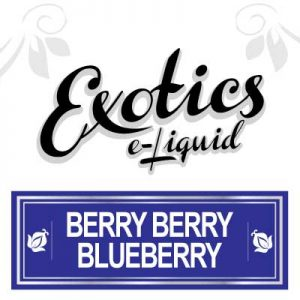 Berry Berry Blueberry e-Liquid