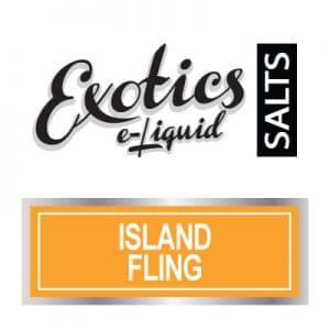 Exotics e-Liquid SALTS Island Fling