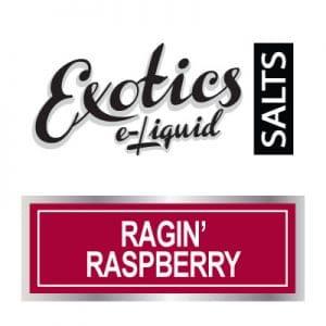Exotics e-Liquid SALTS Ragin Raspberry