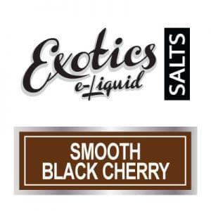 Exotics e-Liquid SALTS Smooth Black Cherry