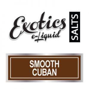 Exotics e-Liquid SALTS Smooth Cuban