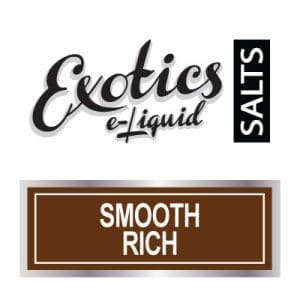 Exotics e-Liquid SALTS Smooth Rich