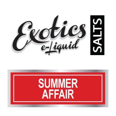 Exotics e-Liquid SALTS Summer Affair